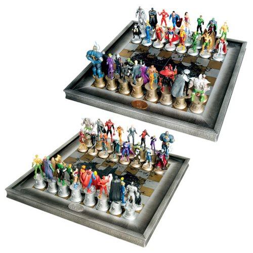 DC Comics Complete Justice League Chess Set