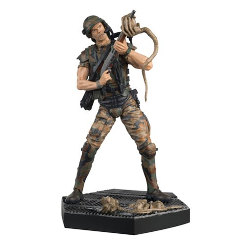 Aliens Hicks Figure with Collector Magazine #3