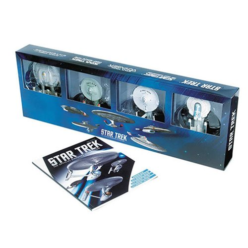 Star Trek Enterprise Die-Cast Vehicle 4-Pack with Magazine