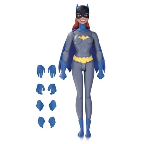 Batman: The Animated Series Batgirl Gray Suit Action Figure