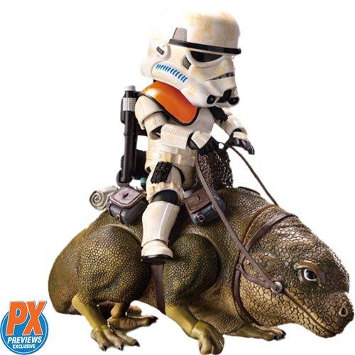 Star Wars Dewback and Sandtrooper Egg Attack Figure - PX