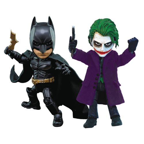 Batman and Joker Hybrid Metal Figuration Action Figure Set