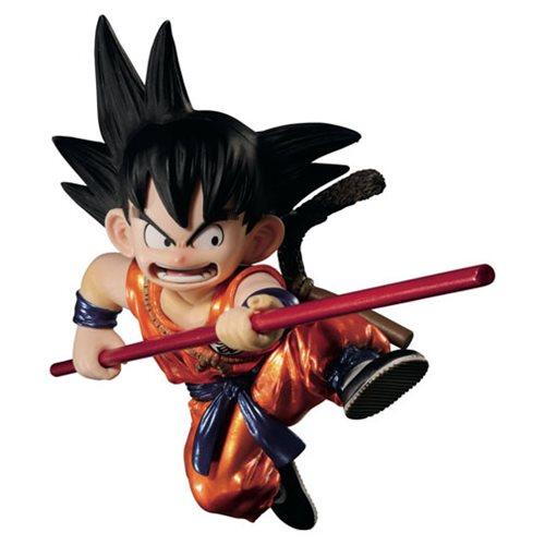 Dragon Ball SCultures Metallic Son Goku Statue