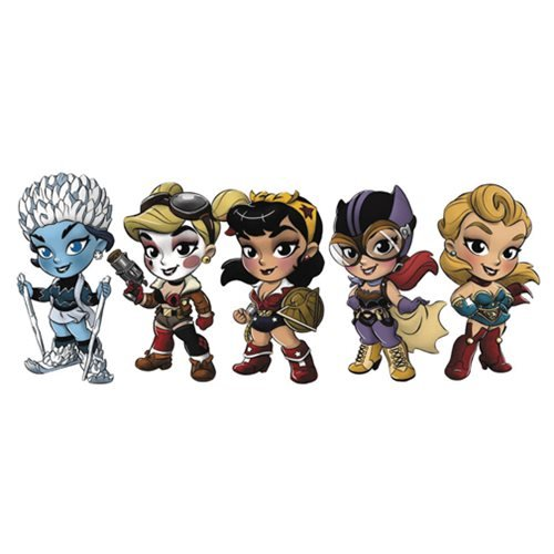 DC Bombshells Series 2 Mini-Figure Random 4-Pack