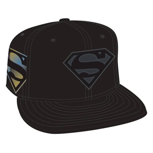 Superman Logo Side Flect Snap Back Cap