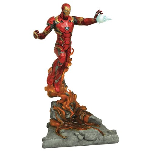 Marvel Milestones Captain America: Civil War Iron Man Statue