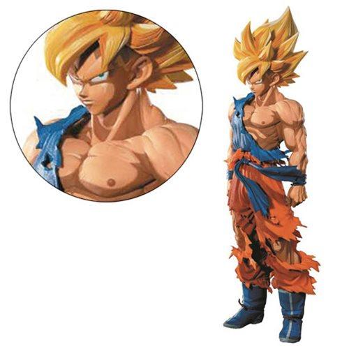 Dragon Ball Z M.S. Piece Manga Dimensions Son Goku Statue