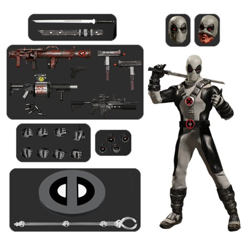 Картинки по запросу One:12 Collective Figures - Marvel - X-Force Deadpool Exclusive Version