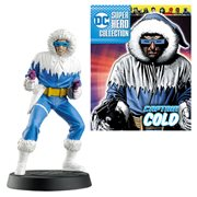 DC Superhero Captain Cold Best Of Figure with Magazine #37