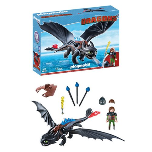 Playmobil 9246 How to Train Your Dragon Hiccup and Toothless