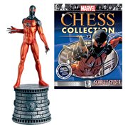 Marvel Scarlet Spider White Knight Chess Piece with Magazine