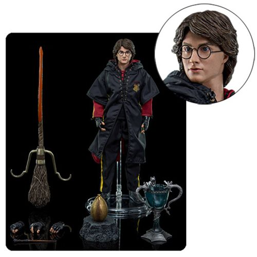 Harry Potter Goblet of Fire Triwizard Harry 1:8 Scale Figure
