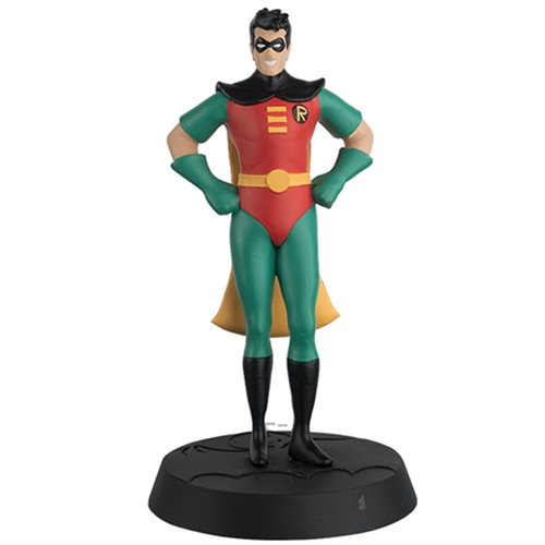 Batman: The Animated Series Robin Figure with Collector Magazine #6