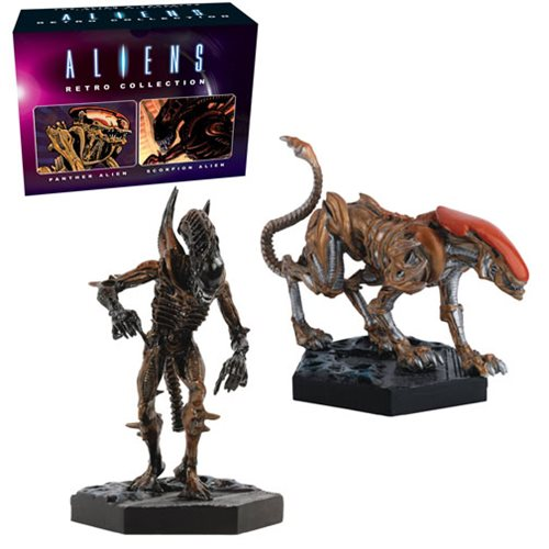 Aliens Retro Figure Collection Panther and Scorpion Set #3
