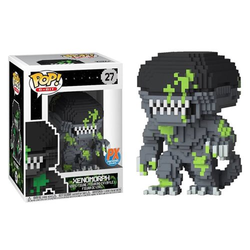 Alien Xenomorph Blood Splattered 8-Bit Pop! Figure - PX