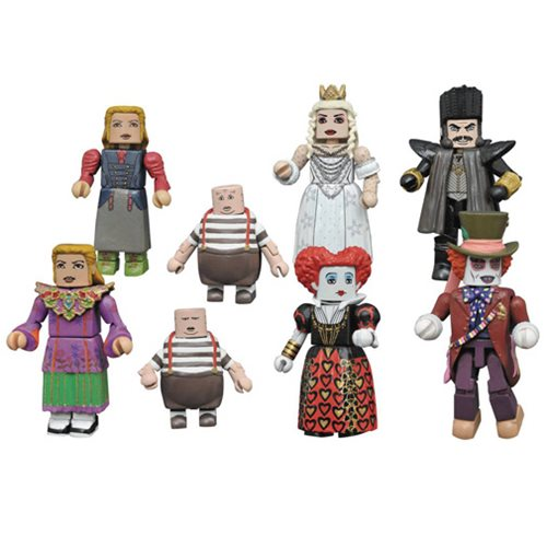 Alice Through Looking Glass Minimates Series 1 2-Pack Case