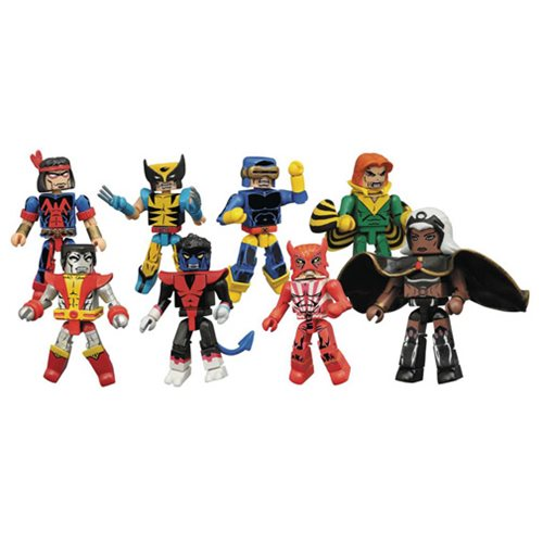 Marvel Minimates Series 68 Giant Size X-Men Mini-Figure Set
