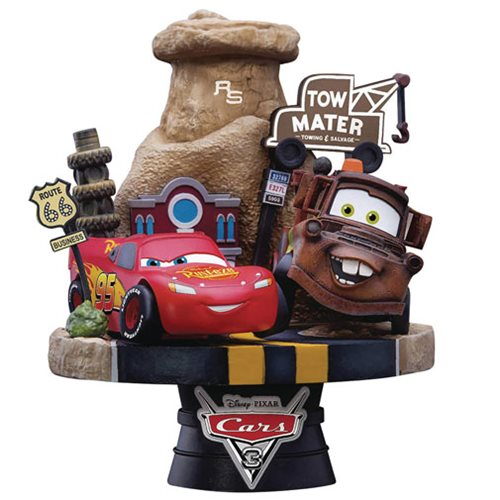Cars 3 D-Select Series DS-009 6-Inch Statue - Previews Exclusive