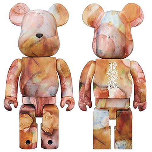 Pushead 1,000% Water Print Bearbrick Figure