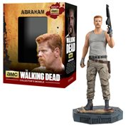 The Walking Dead Abraham Figure with Collector Magazine #12