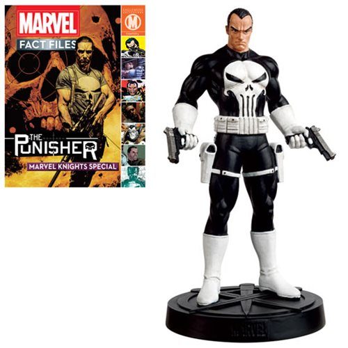 Marvel Avengers Fact Files Punisher Statue with Magazine