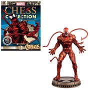 Marvel Carnage Black Pawn Chess Piece with Magazine