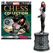 Marvel Silk White Bishop Chess Piece with Magazine