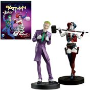 DC Masterpiece 5 Joker and Harley Statues with Magazine