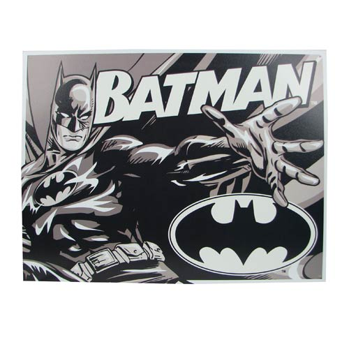Batman Duotone Tin Sign
