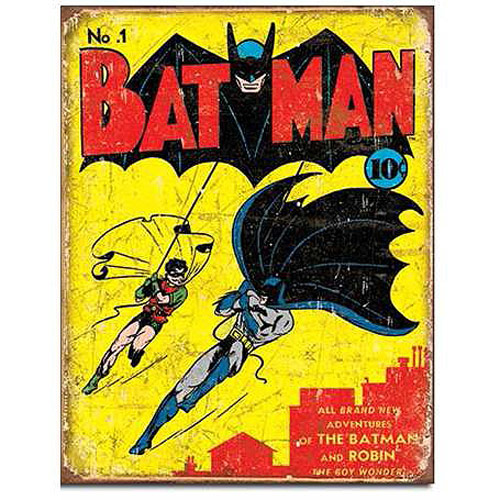 Batman No. 1 DC Comics Retro Tin Sign