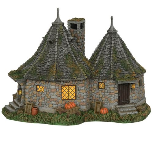 Harry Potter Village Hagrid's Hut Statue