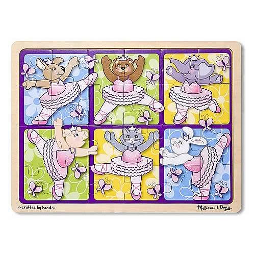 Ballerinas & Butterflies Jigsaw 24-Piece Puzzle
