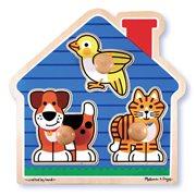 House Pets Jumbo Knob Puzzle
