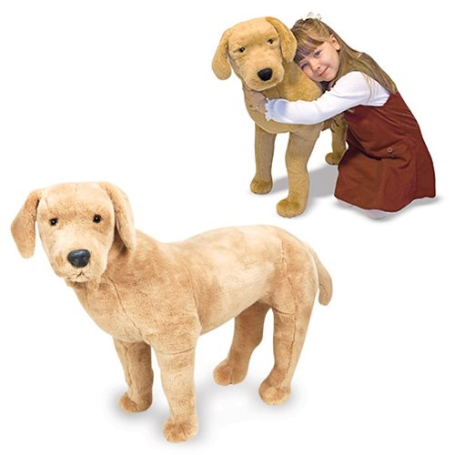Yellow Lab Plush Toy