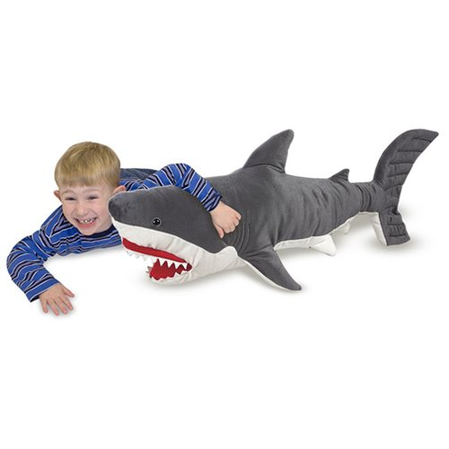 Great White Shark 40-Inch Plush