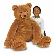 Jumbo Brown Teddy Bear Plush Toy