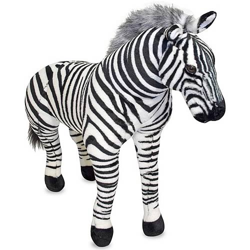 Zebra Plush Toy