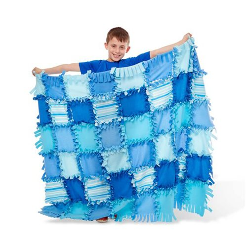Melissa & Doug Created by Me Striped Fleece Quilt