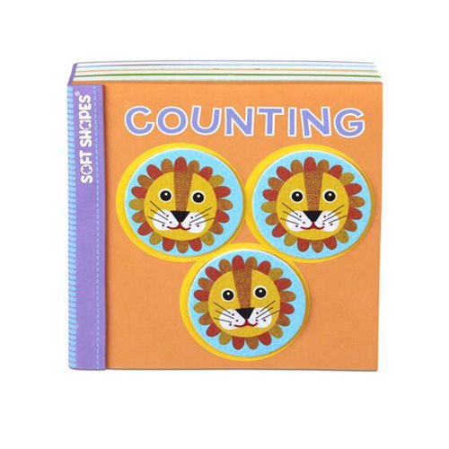 Melissa & Doug Soft Shapes Counting Book