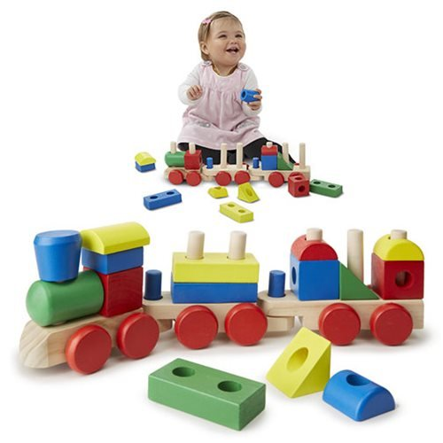 Melissa & Doug Stacking Train Toy