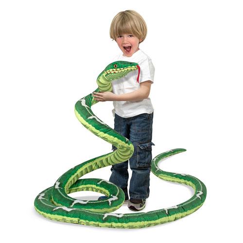 Snake 14-Foot Plush