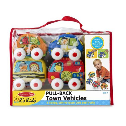 Melissa & Doug Pull-Back Vehicles Baby and Toddler Toy