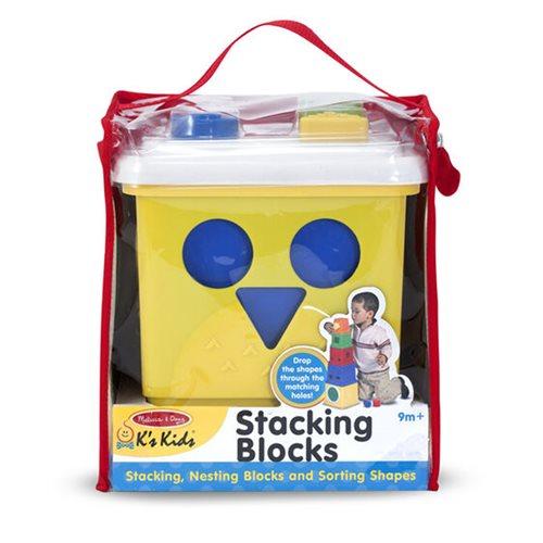 Melissa & Doug Stacking Blocks Set Learning Toy