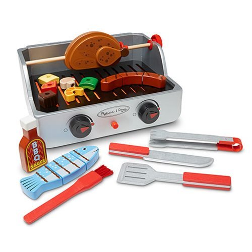 Rotisserie and Grill Barbecue Playset