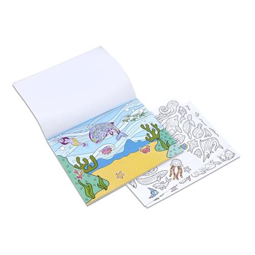 Melissa & Doug Animals Color-Your-Own Sticker Pad