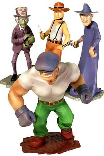 The Goon PVC Figure Set