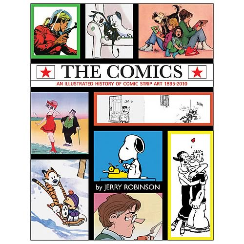 Comics: An Illustrated History of Comic Strip Art Hardcover