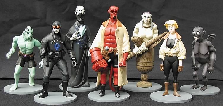 Hellboy PVC Set