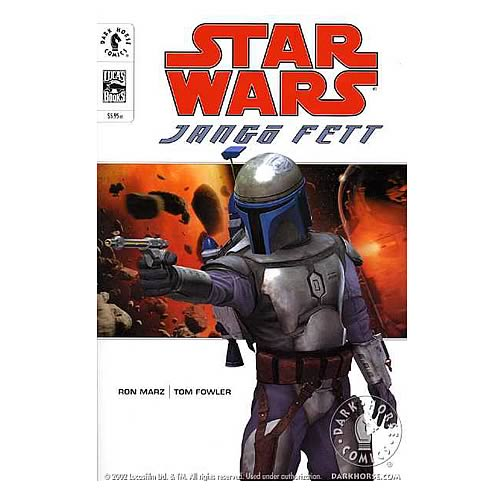 Star Wars: Jango Fett Graphic Novel