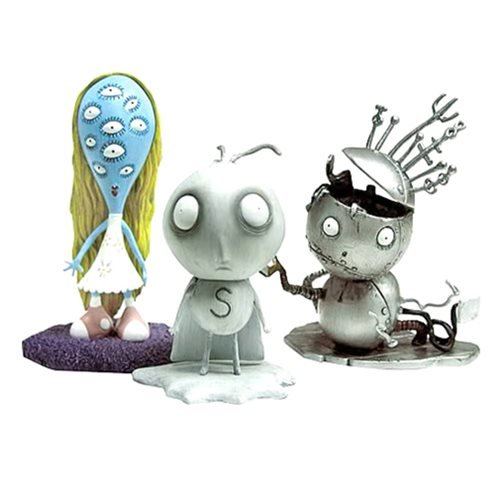 Tim Burton Tragic Toys Stain Boy PVC Set